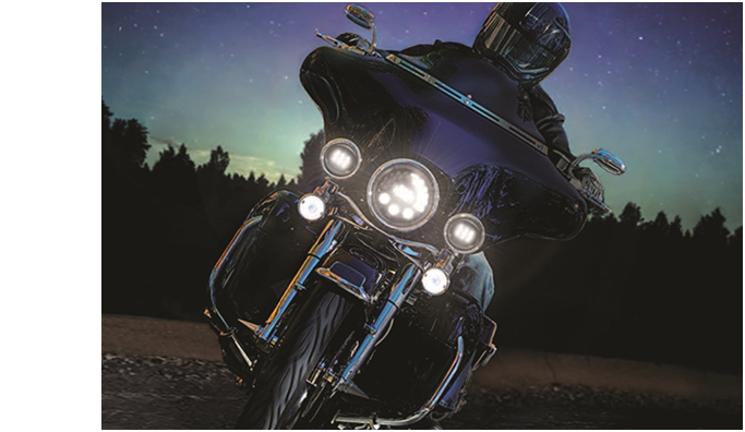motorcycle led